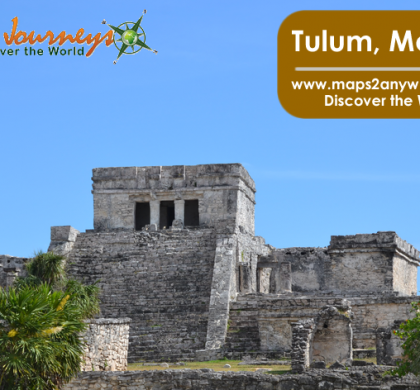 Off To Tulum With A Mexico Road Map